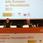 Director of Digital Media Communication Speaks at the opening session for the European Year of the Volunteer